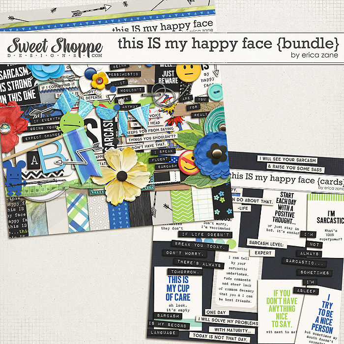 This IS My Happy Face {Bundle} by Erica Zane
