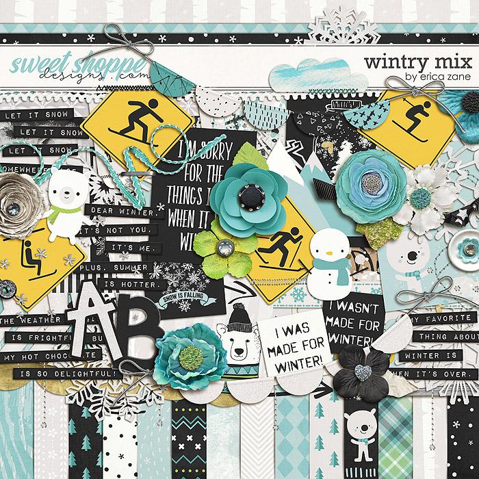 Wintry Mix by Erica Zane