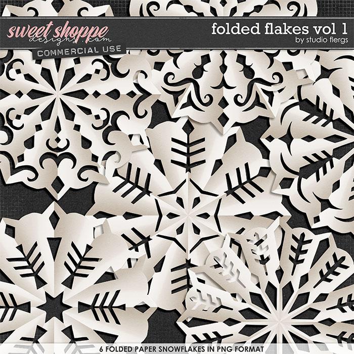 Folded Flakes VOL 1 by Studio Flergs