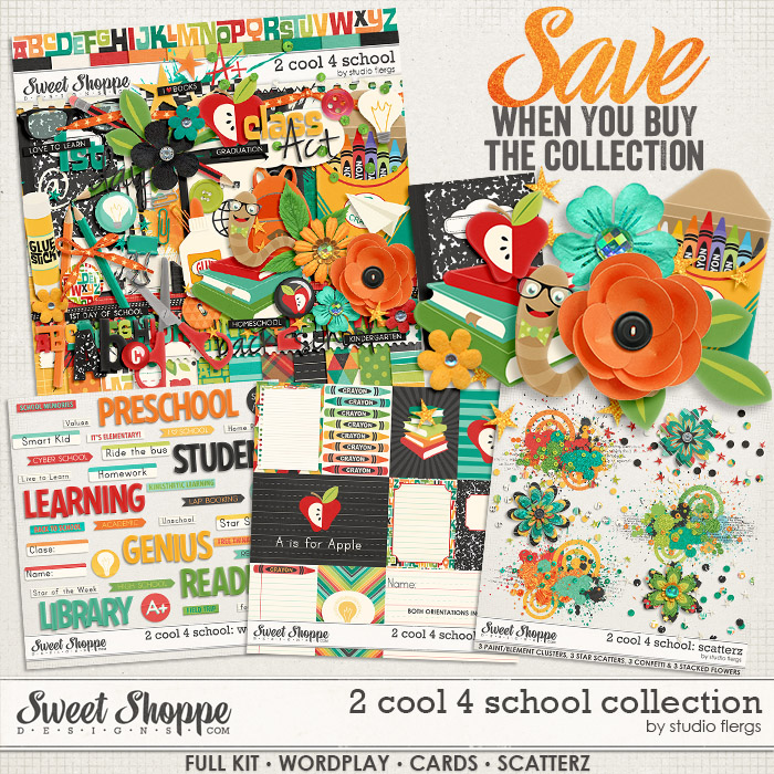 2 cool 4 school: COLLECTION by Studio Flergs