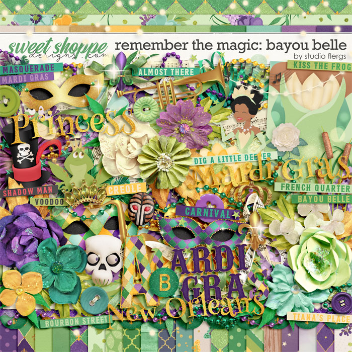 Remember the Magic: BAYOU BELLE by Studio Flergs