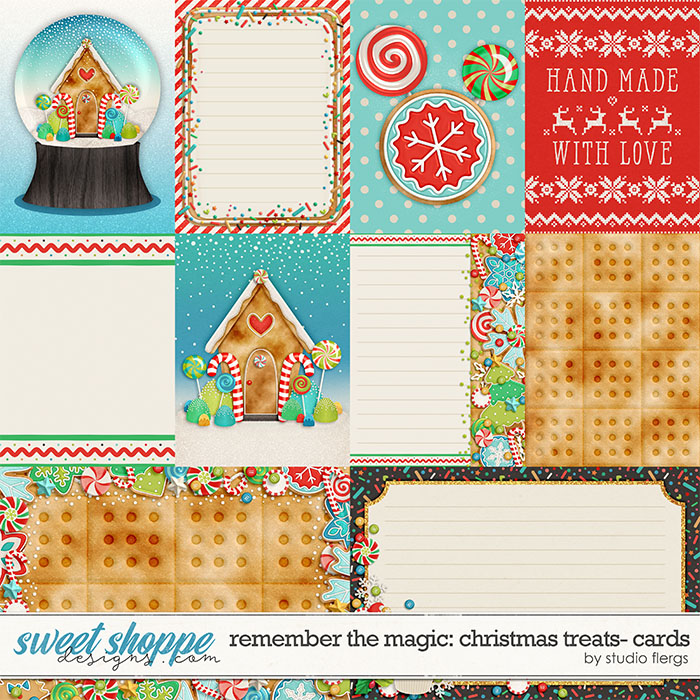 Remember the Magic: CHRISTMAS TREATS- CARDS by Studio Flergs