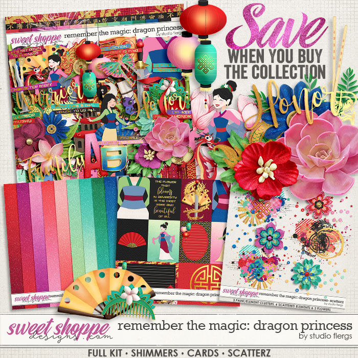 Remember the Magic: DRAGON PRINCESS- COLLECTION & *FWP* by Studio Flergs
