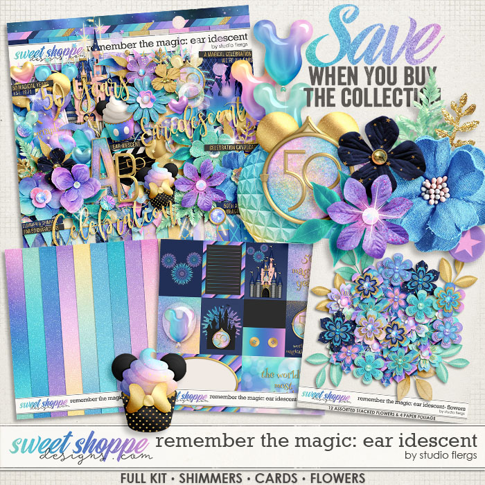 Remember the Magic: EAR IDESCENT- COLLECTION & *FWP* by Studio Flergs