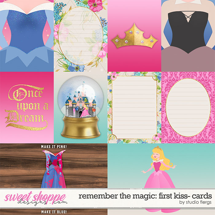Remember the Magic: FIRST KISS- CARDS by Studio Flergs