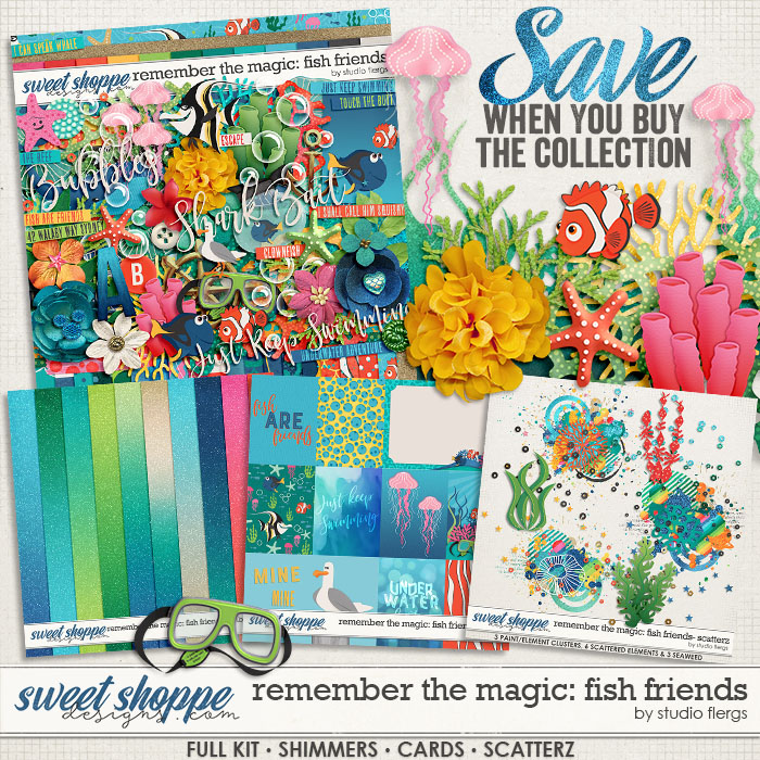 Remember the Magic: FISH FRIENDS- COLLECTION & *FWP* by Studio Flergs