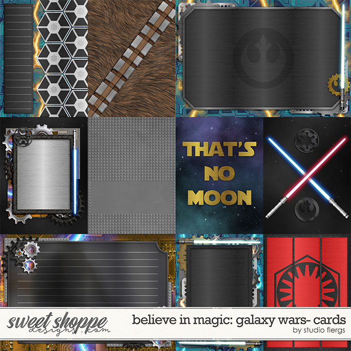 Remember the Magic: GALAXY WARS- CARDS by Studio Flergs