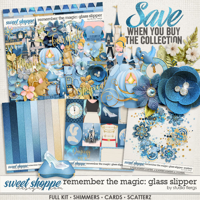 Remember the Magic: GLASS SLIPPER- COLLECTION & *FWP* by Studio Flergs