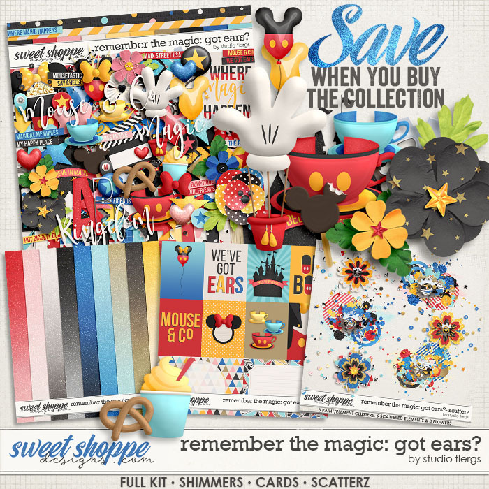 Remember the Magic: GOT EARS? COLLECTION & *FWP* by Studio Flergs