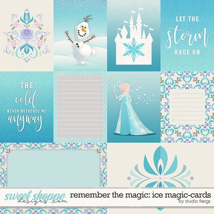 Remember the Magic: ICE MAGIC- CARDS by Studio Flergs