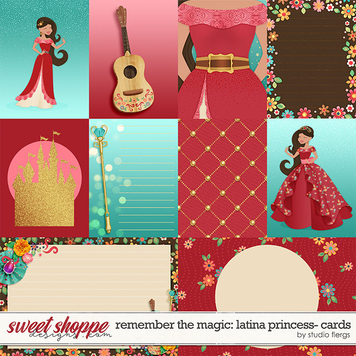 Remember the Magic: LATINA PRINCESS- CARDS by Studio Flergs