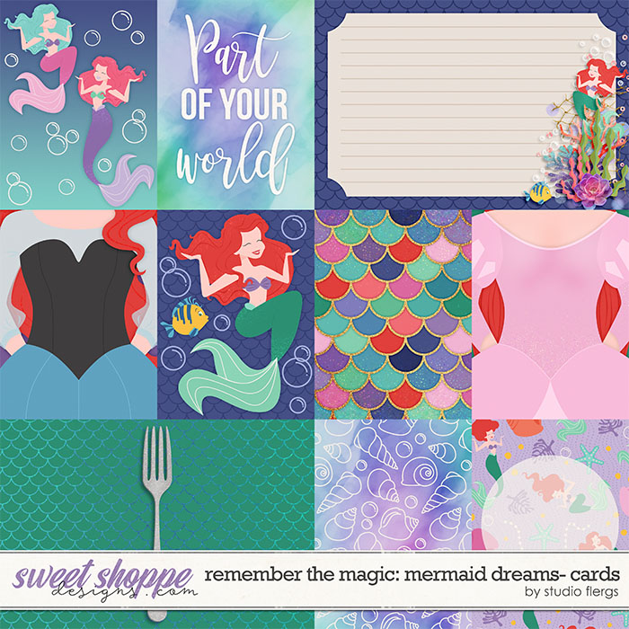 Remember the Magic: MERMAID DREAMS- CARDS by Studio Flergs