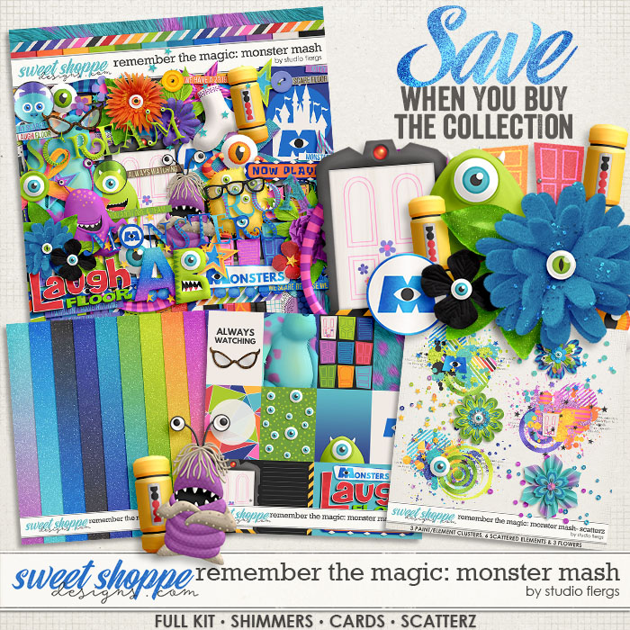Remember the Magic: MONSTER MASH- COLLECTION & *FWP* by Studio Flergs
