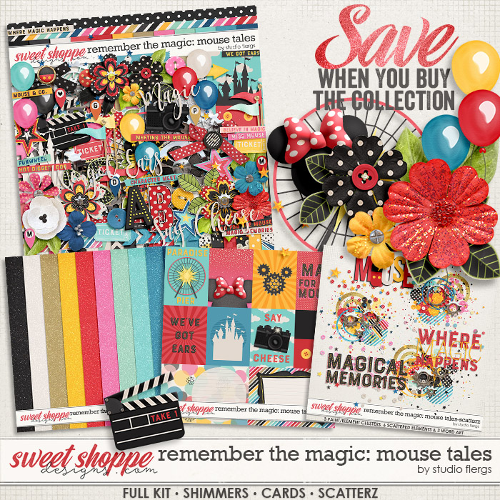Remember the Magic: MOUSE TALES- COLLECTION & *FWP* by Studio Flergs