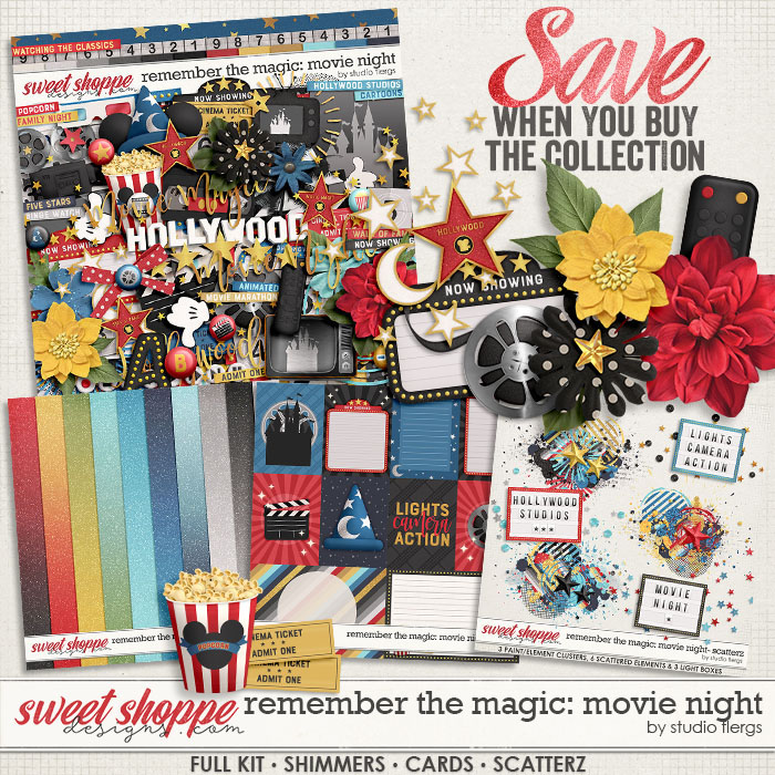 Remember the Magic: MOVIE NIGHT- COLLECTION & *FWP* by Studio Flergs