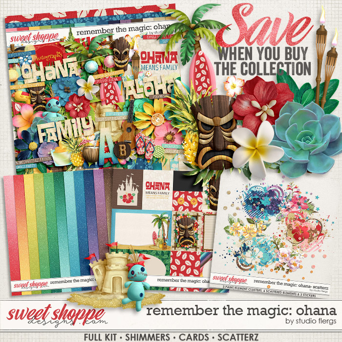 Remember the Magic: OHANA- COLLECTION & *FWP* by Studio Flergs
