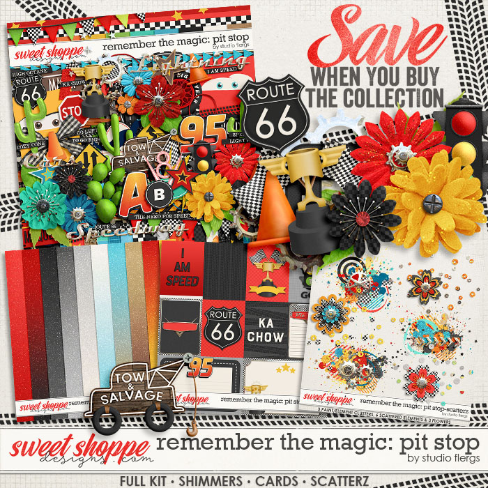 Remember the Magic: PIT STOP- COLLECTION & *FWP* by Studio Flergs