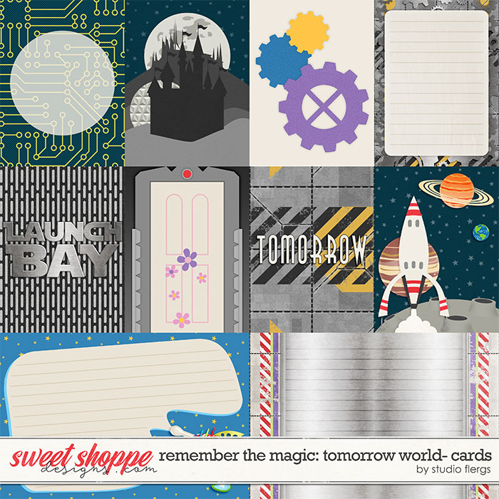 Remember the Magic: TOMORROW WORLD- CARDS by Studio Flergs