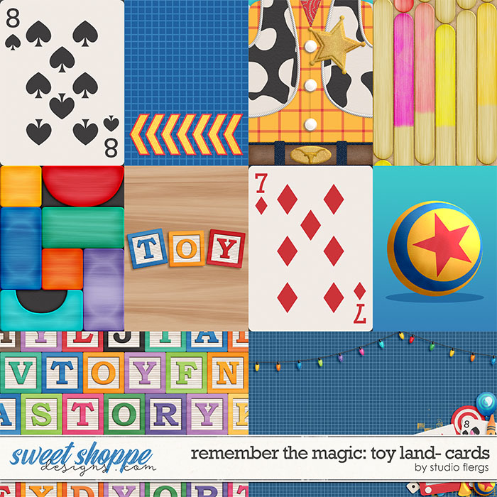 Remember the Magic: TOY LAND- CARDS by Studio Flergs