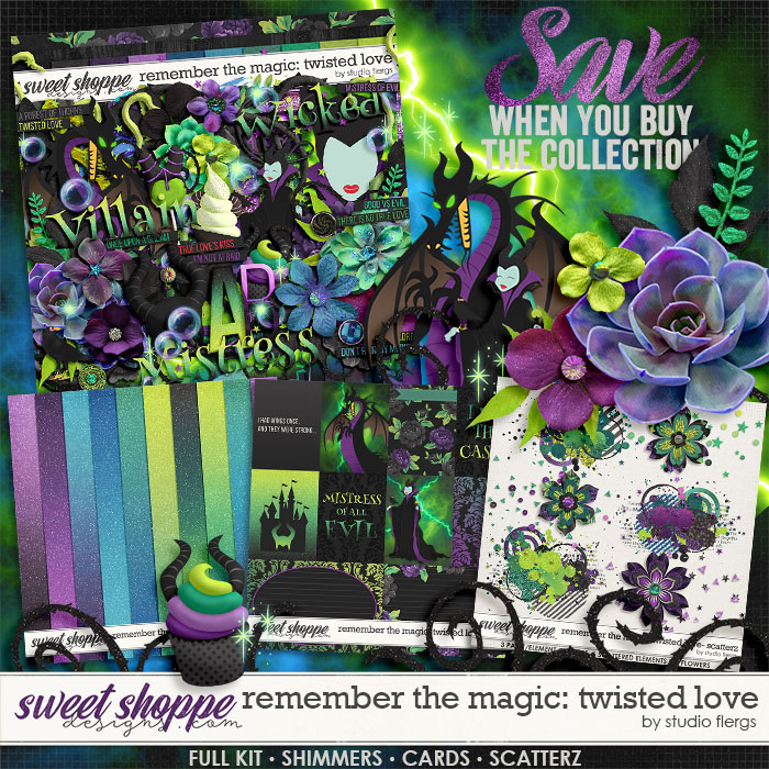 Remember the Magic: TWISTED LOVE- COLLECTION & *FWP* by Studio Flergs