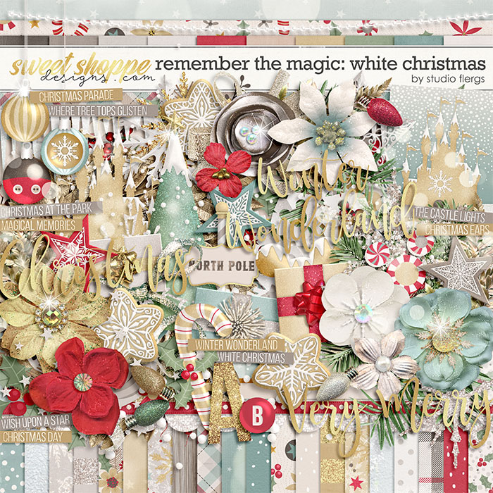 Remember the Magic: WHITE CHRISTMAS by Studio Flergs