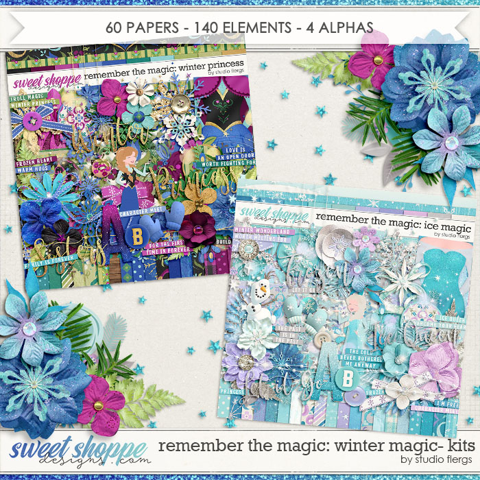 Remember the Magic: WINTER MAGIC- KIT COLLECTION by Studio Flergs
