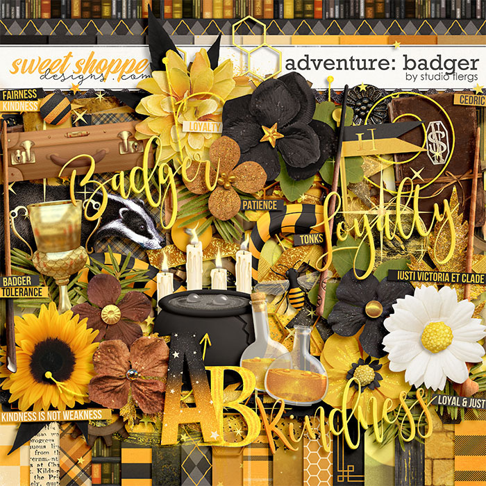 Adventure: Badger by Studio Flergs