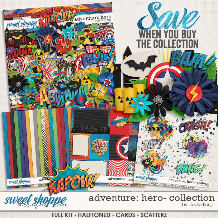 Adventure: Hero- COLLECTION & *FWP* by Studio Flergs