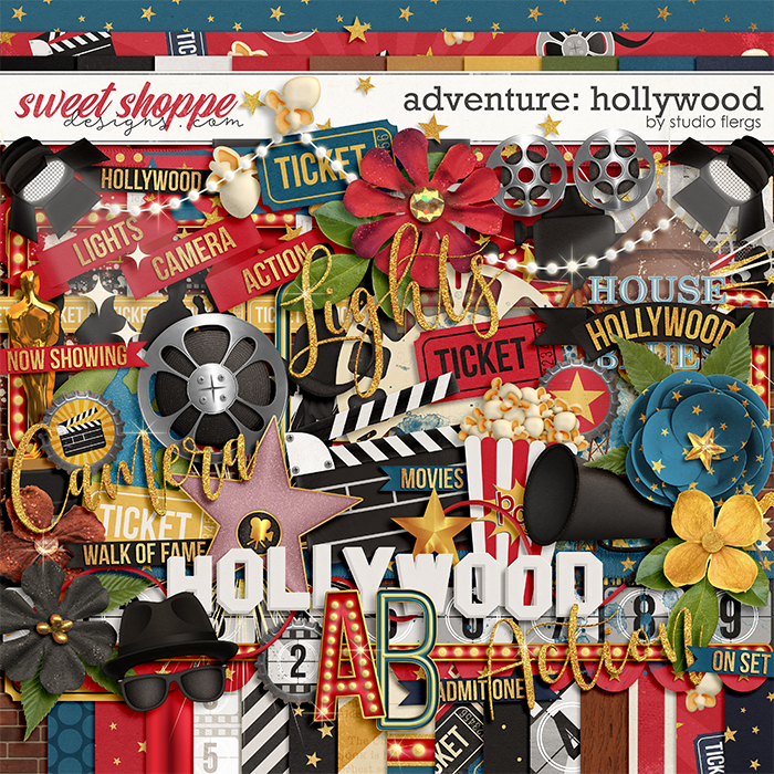 Adventure: Hollywood- KIT by Studio Flergs