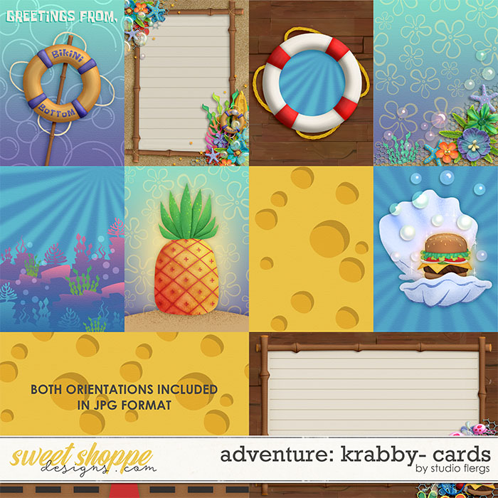 Adventure: Krabby- CARDS by Studio Flergs