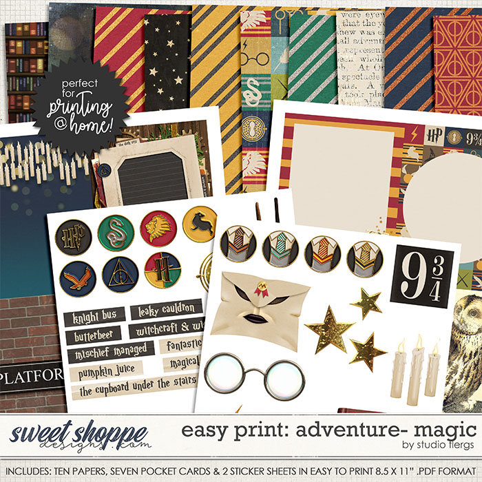 Adventure: MAGIC- EZ PRINT by Studio Flergs