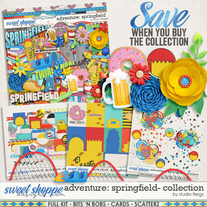 Adventure: Springfield- COLLECTION & *FWP* by Studio Flergs
