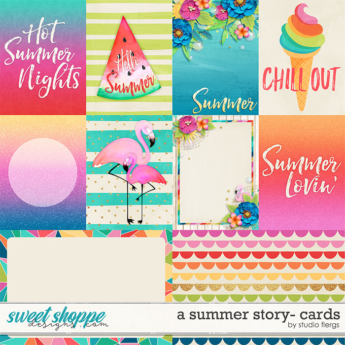 A Summer Story: CARDS by Studio Flergs