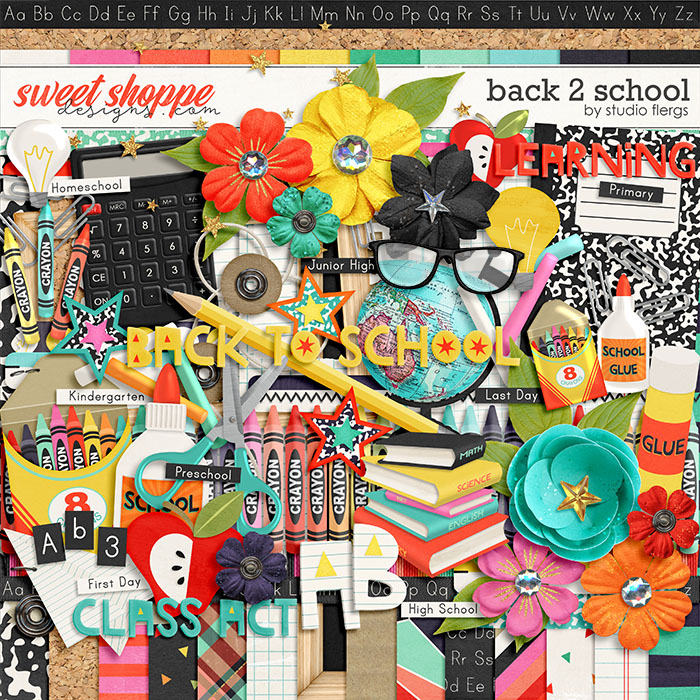 Back 2 School by Studio Flergs