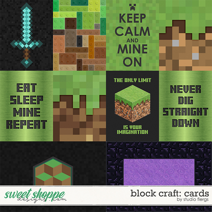 Block Craft: CARDS by Studio Flergs