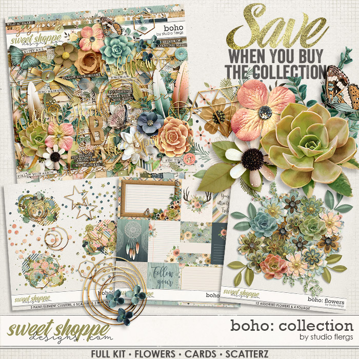 Boho: COLLECTION & *FWP* by Studio Flergs