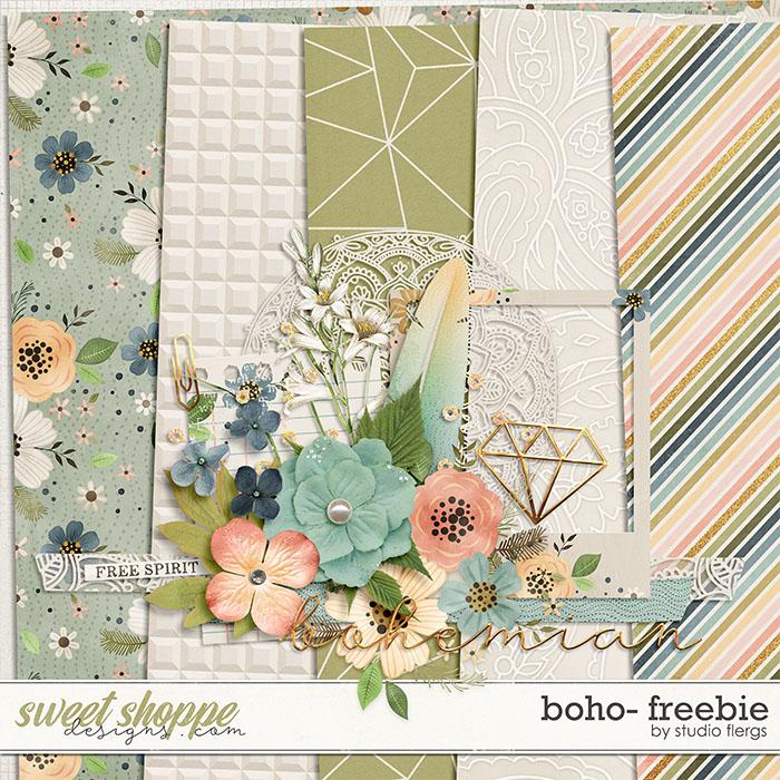 Boho FREEBIE by Studio Flergs
