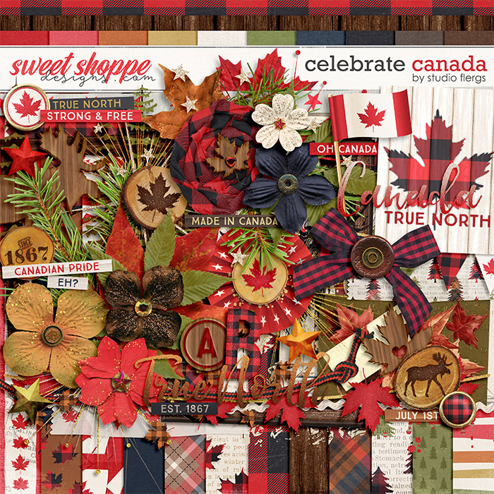 Celebrate Canada by Studio Flergs