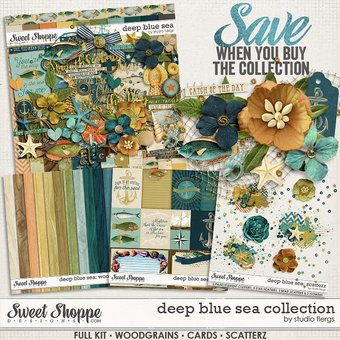 Deep Blue Sea :. COLLECTION by Studio Flergs
