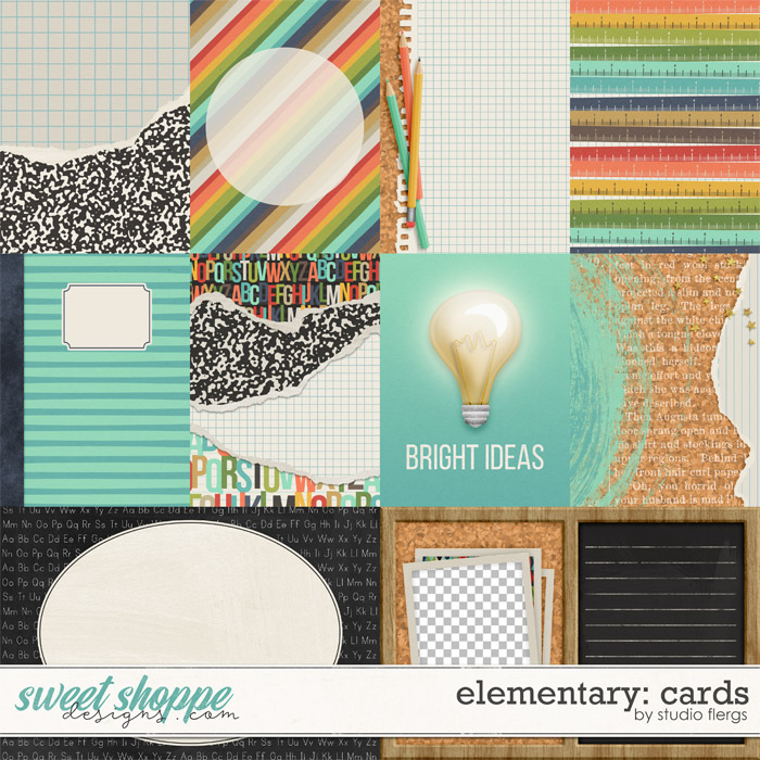 Elementary: CARDS by Studio Flergs