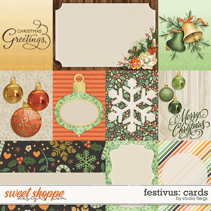 Festivus: CARDS by Studio Flergs