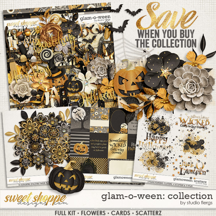 Glam-o-ween: COLLECTION & *FWP* by Studio Flergs