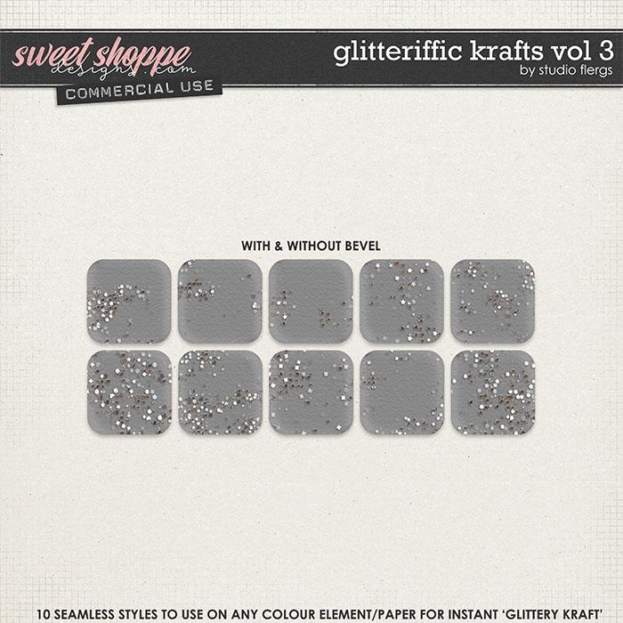 Glitteriffic Krafts VOL 3 by Studio Flergs