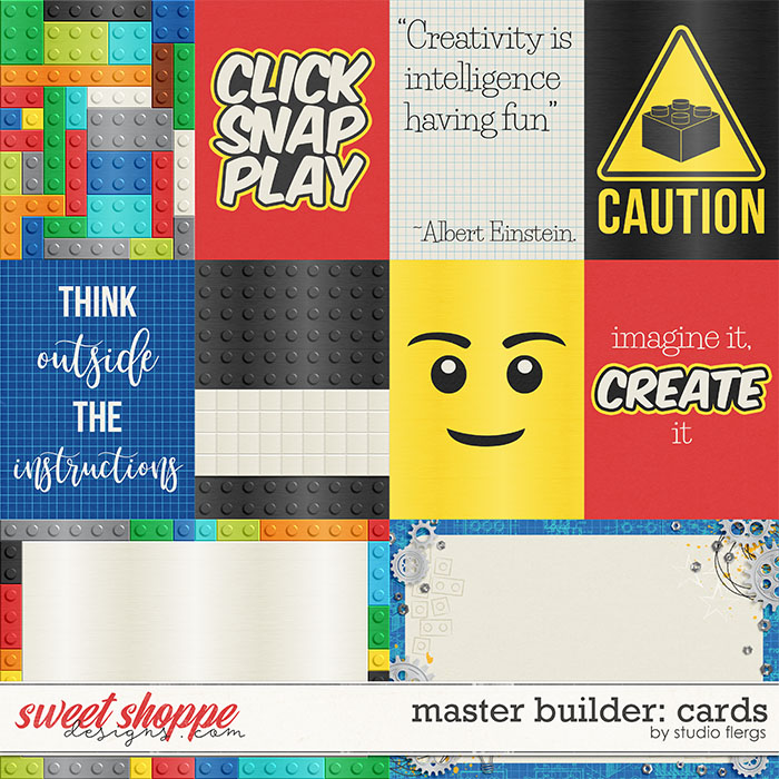 Master Builder: CARDS by Studio Flergs