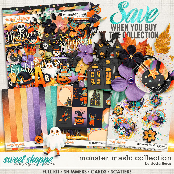 Monster Mash: COLLECTION & *FWP* by Studio Flergs