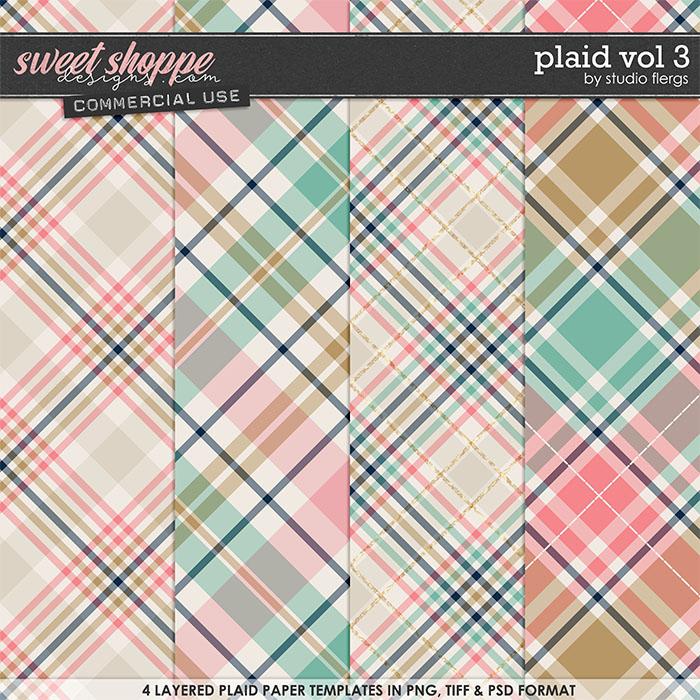 Plaid VOL 3 by Studio Flergs