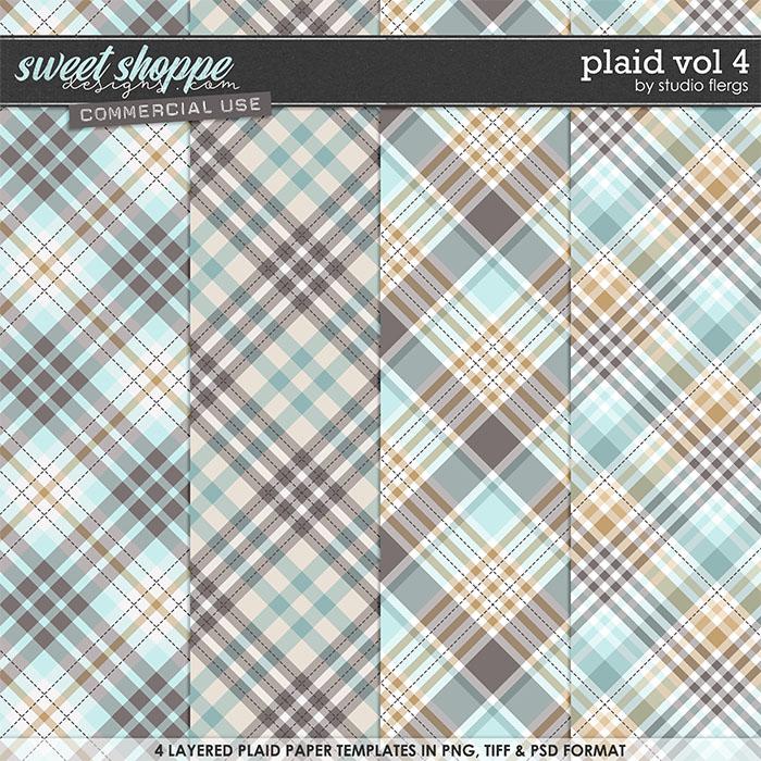Plaid VOL 4 by Studio Flergs