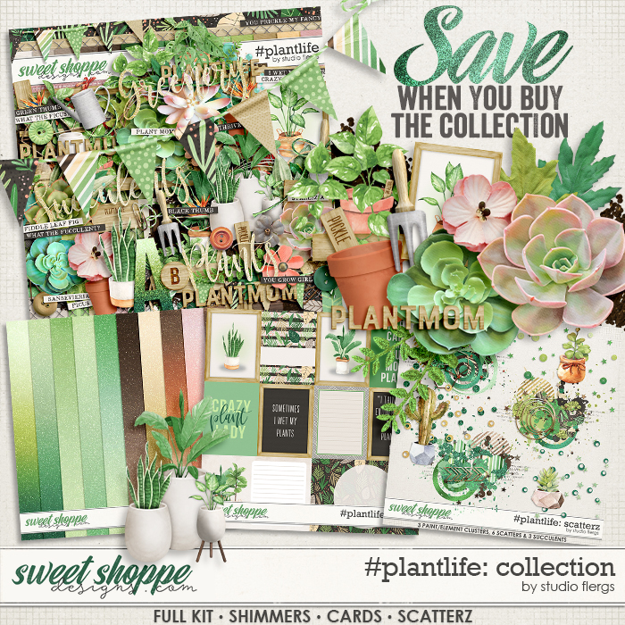 #plantlife: COLLECTION & *FWP* by Studio Flergs