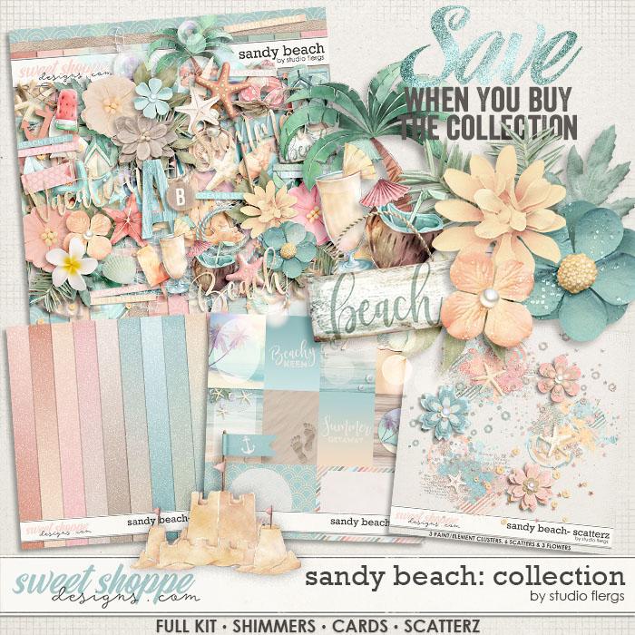 Sandy Beach: COLLECTION & *FWP* by Studio Flergs
