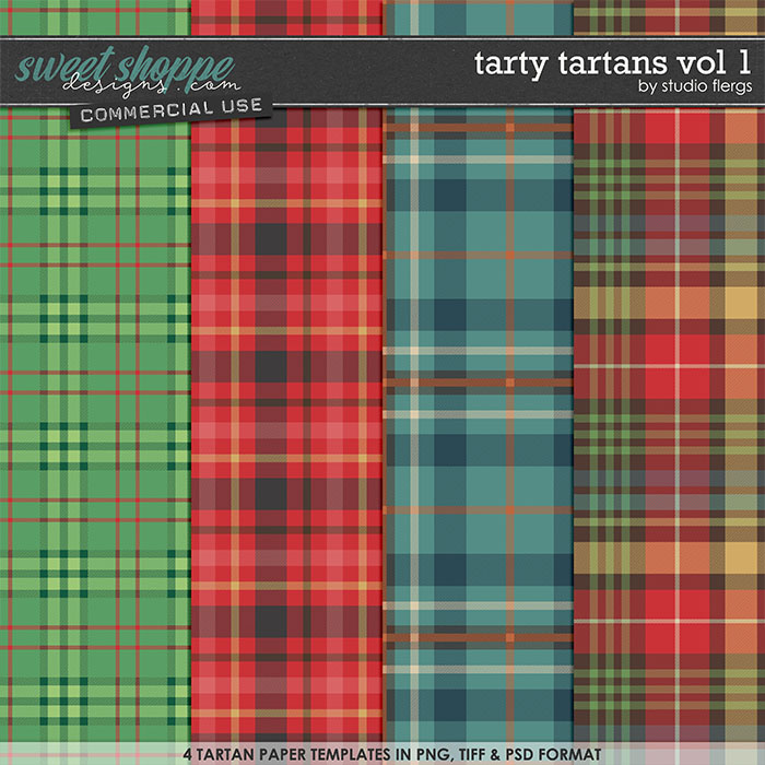Tarty Tartans VOL 1 by Studio Flergs